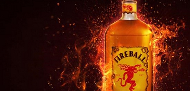 Fireball Whisky comes along for the tour
